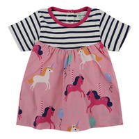 Unicorn Stripe Dress