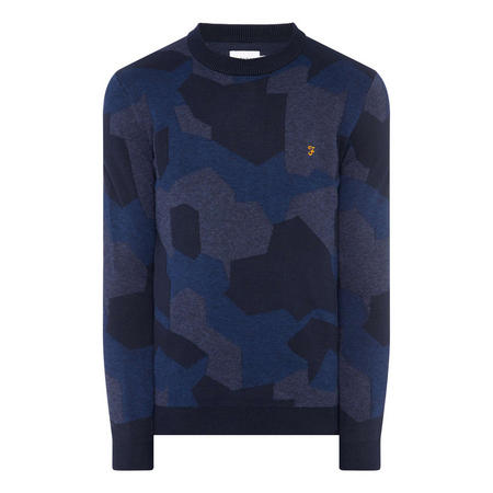 Barrington Camouflage Sweater