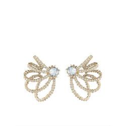 Alexis Bittar Crystal Lace Orbiting Earrings