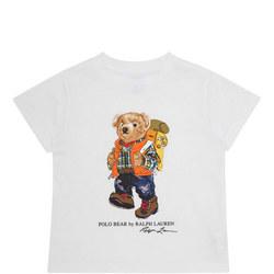 Boys Camping Teddy T-Shirt
