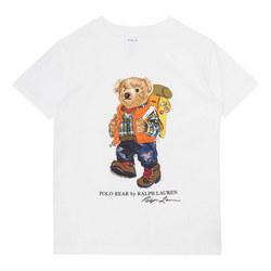 Boys Camping Teddy Bear T-Shirt