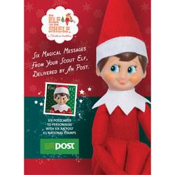 Elf On The Shelf® Postcard + Stamps Set