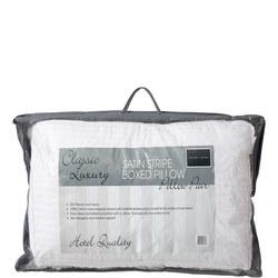 Sleep Well Live Well Satin Stripe Pillow Pair