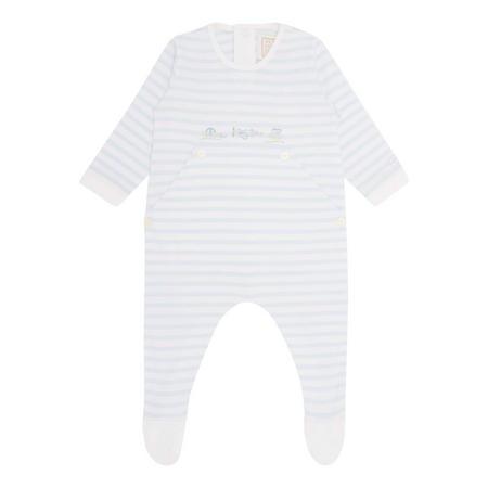 Pierce Striped Babygrow