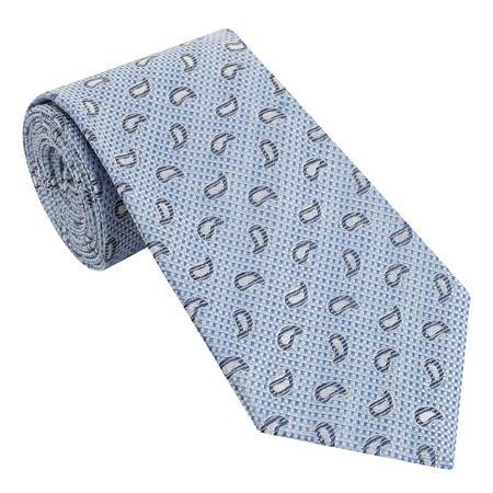Paisley Checkered Tie