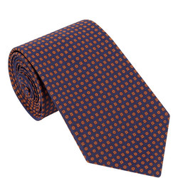 Micro-Square Silk Tie