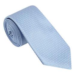 Micro-Dot Print Tie