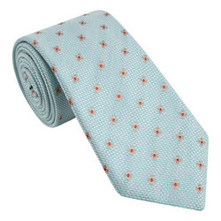 Floral Weave Tie
