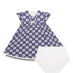 Pansy Flower Dress