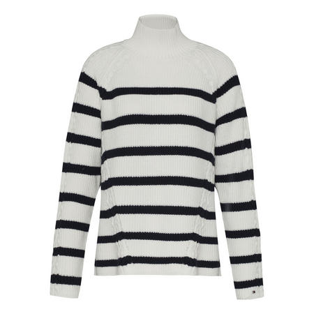 Sarah Loose Fit Striped Sweater