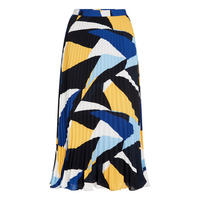 Norah Colour Block Midi Skirt
