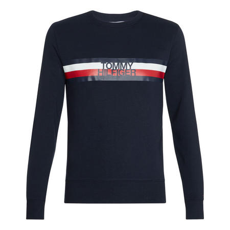 Logo Stripe Sweatshirt
