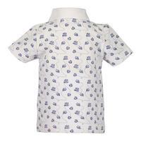 Boat Print Polo Shirt