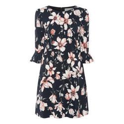 Magnolia Floral Tunic Dress