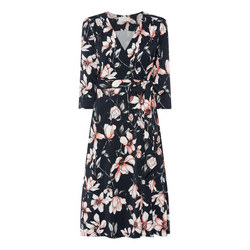 Magnolia Belted Wrap Dress