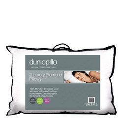 Dunlopillo Luxury Diamond Pillow Pair