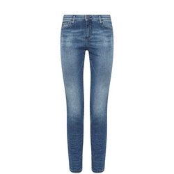 J10 Skinny Cropped Jeans