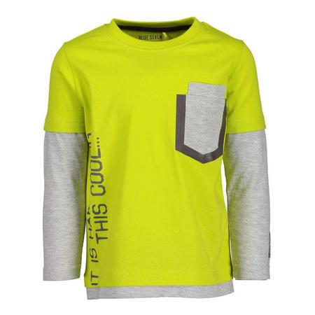 Long Sleeve Slogan T-Shirt