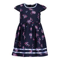 Floral Print Cap Sleeve Dress