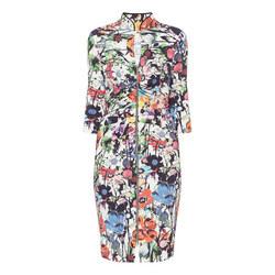 Floral Zip Dress