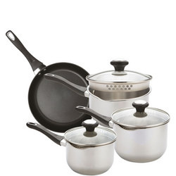 Strain Away Four Piece Set with Straining Lids