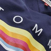 Logo Rainbow Stripe T-Shirt
