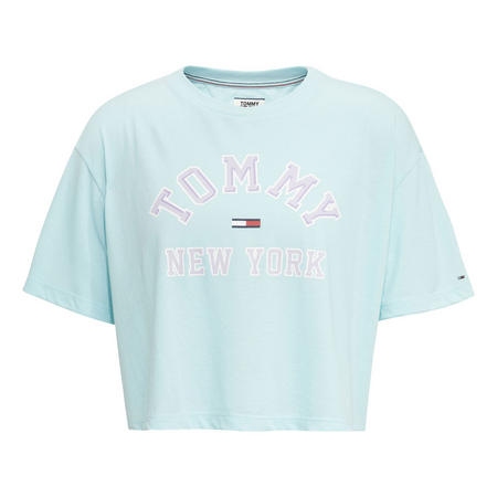 9320e01db18 Retro Logo Crop T-Shirt