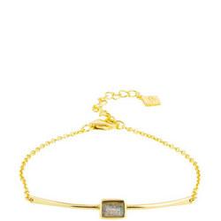 Manhattan Bracelet with Labradorite