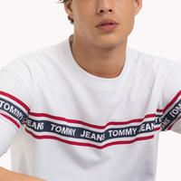 Classic White Strip T-Shirt