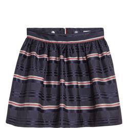 Signature Satin Skirt