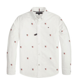 All-over Oxford Shirt
