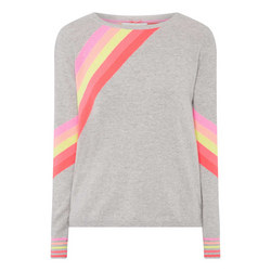 Diagonal Stripe Sweater