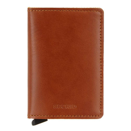 Original Cognac Slim Wallet
