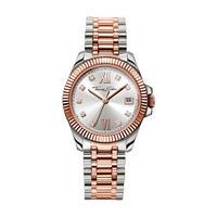 Silver Rose Watch