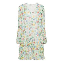 Lurex Floral Dress