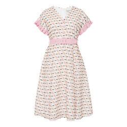 Multi Ruffle Dress