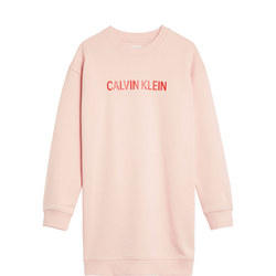 Girls Logo Sweater Dress