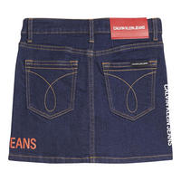 Girls Logo Denim Skirt