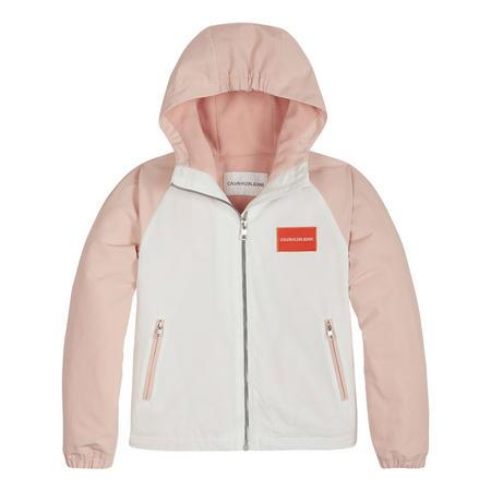 Girls Colour Block Coat