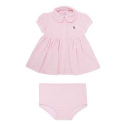 Two-Piece Oxford Dress Baby