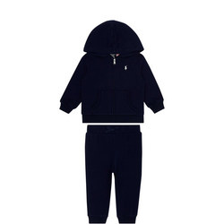 Embroidered Logo Tracksuit