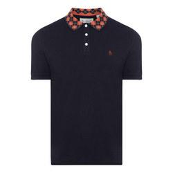 Argyle Collar Polo Shirt