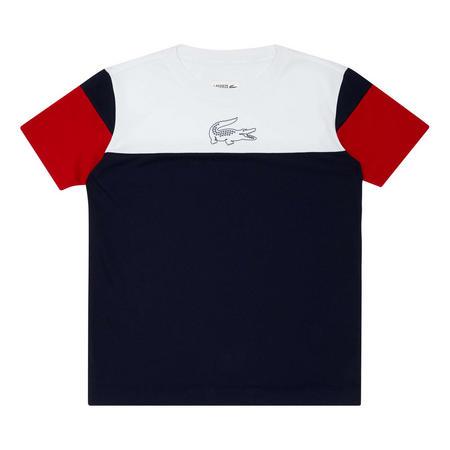 Colour Block Logo T-Shirt