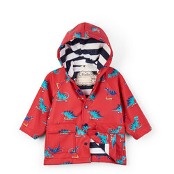 Babies Scooting Dinosaur Raincoat