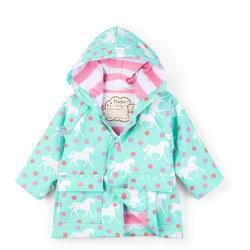Babies Horse Print Raincoat