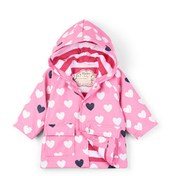 Heart Print Raincoat