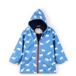 Dinosaur Print Raincoat
