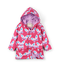 Butterfly Print Raincoat