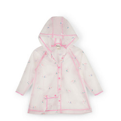 Unicorn Print Clear Raincoat