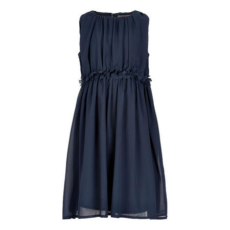 Gathered Sleeveless Dress